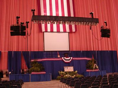 NEXO ALPHA Republican State Convention @ Cajundome (2004)
